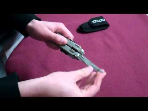 Відеоогляд мультитула Gerber Flik Multi Plier