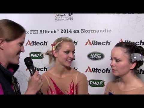 WEG vaulting: Eccles sisters take bronze [VIDEO]