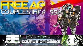 Titanfall 2: Free Agents - Couples First Impressions!Hello COG'S it's Rydek and Emira here bringing you our First Look and Impressions of the Temporary Game Mode that is Free Agents!What have your thoughts been on this game mode? Please let us know in the comments below!Other Links: Twitter: https://twitter.com/cofgeeksFacebook: https://www.facebook.com/CoupleOfGeeks/Our Website: www.cofgeeks.comInstagram: https://www.instagram.com/coupleofgeekz/