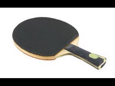 Les différents revêtements au tennis de table