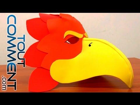 Comment faire un masque d'oiseau