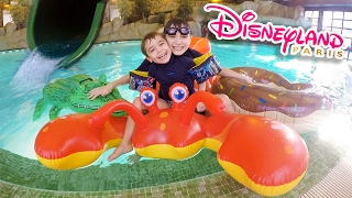 Video DÉFIS PISCINE & TOBOGGAN FUN au SEQUOIA LODGE DISNEYLAND PARIS 💦 MP3, 3GP, MP4, WEBM, AVI, FLV November 2017