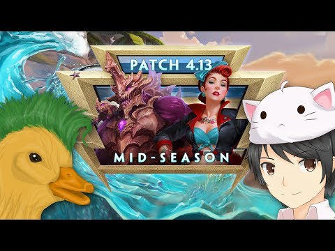 SMITE - Patch Discussion - 4.13 Mid-Season (w/ MythyMoo & Punk Duck) (видео)