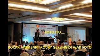 Video KOCAK !!!  JAWABAN ROCKY GERUNG BUAT SEMUA TERTAWA MP3, 3GP, MP4, WEBM, AVI, FLV Februari 2019