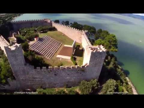 Castiglione del Lago Drone Video