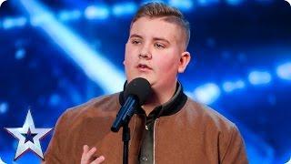 Video Golden Buzzer act Kyle Tomlinson proves David wrong | Auditions Week 6| Britain's Got Talent 2017 MP3, 3GP, MP4, WEBM, AVI, FLV September 2018