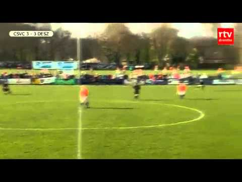 A fine turn and volley from Dutch non-league football.