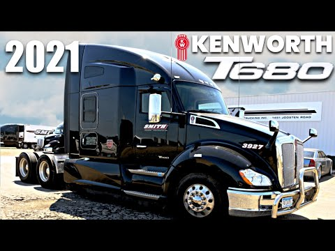 2021 Kenworth t680 review & truck tour