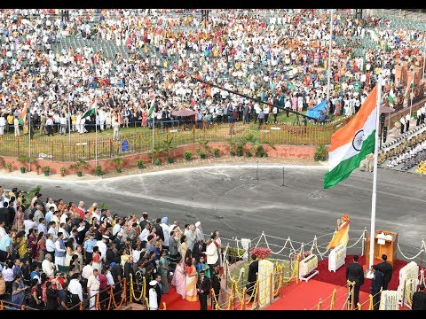 PM Modi at 71st Independence Day Celebrations at Red Fort, Delhi