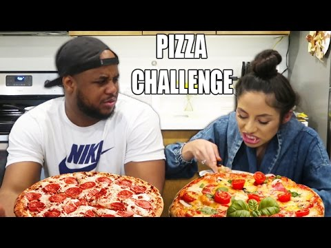 CRAZY PIZZA CHALLENGE!!!