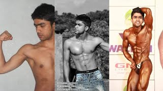 Natural Body Transformation (19-22)- Skinny to Muscle