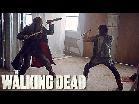 Daryl and Beta's Epic Fight From The Walking Dead Season 9 Episode 13