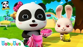 Video Baby Panda's Spring Picnic | Sharing Song for Kids | BabyBus Toys, Cooking Pretend Play | BabyBus MP3, 3GP, MP4, WEBM, AVI, FLV Juli 2019