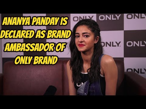 Ananya Panday Is Declared As Brand Ambassador Of ONLY Brand
