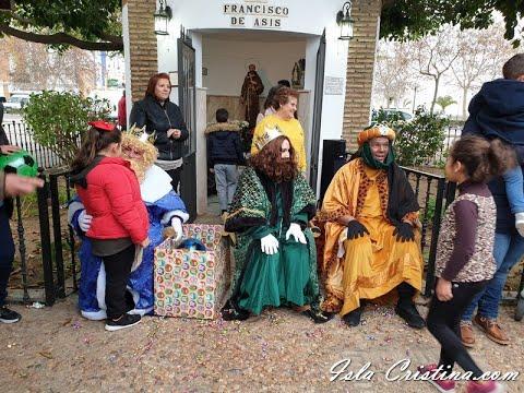 Entrega de cartas a los Reyes Magos Bda San Francisco de Asís