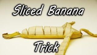 איך לפרוס בננה מבלי לקלף אותה?