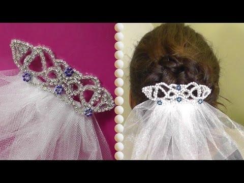 DIY   Bellas Wedding Hair Accessoire - Haarkamm