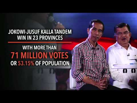 It's official: Jokowi won Indonesia election