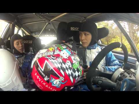 Verena Mei & Leanne Junnila Suit Up For Rally