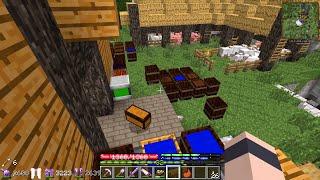 Minecraft - TerraFirmaPunk #42: Kitchen Paint
