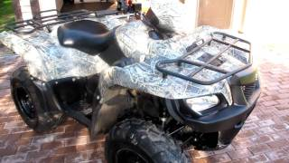 7. Suzuki King quad 700 2007 EFI  Camo