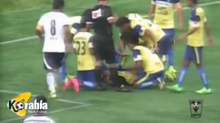 وفاة لاعب هندي داخل الملعب بعد احتفاله بهدف