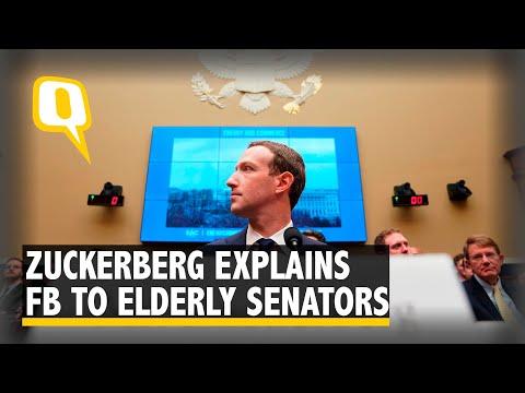 Mark Zuckerberg Has a Hard Time Explaining Facebook to Elderly Senators