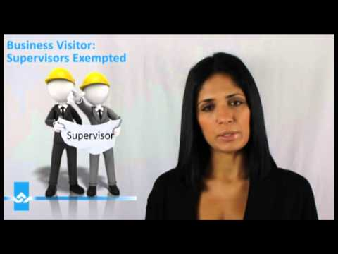 Do I need a Work Permit as a Supervisor Video