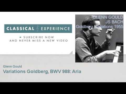Johann Sebastian Bach : Variations Goldberg, BWV 988: Aria