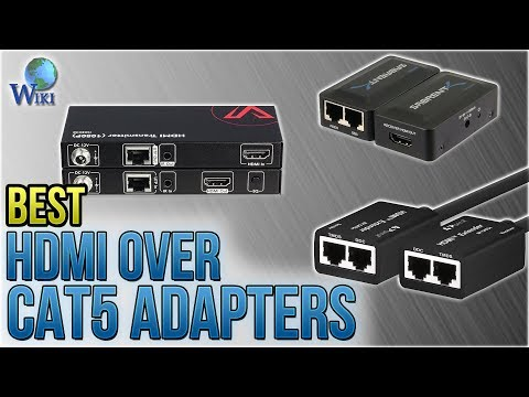 6 Best HDMI Over Cat5 Adapters 2018