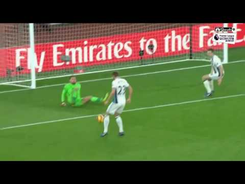 Video: Olivier Giroud's late goal gives Arsenal the win over West Brom