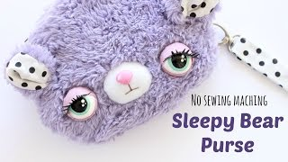 DIY Kawaii Purse | Sleepy Bear Purse Sewing Tutorial | Kawaii Crafts - YouTube