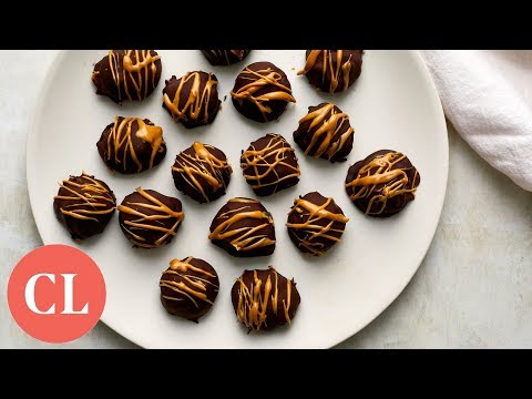 A Healthier Take On Peanut Butter Balls | Our Favorite Recipes | Cooking Light