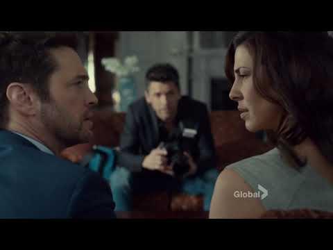 Angie Everett & Matt Shade S1E10 Kiss scene | Private Eyes