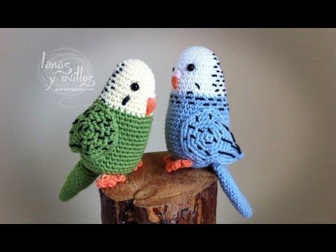 amigurumi tutorial - parrot