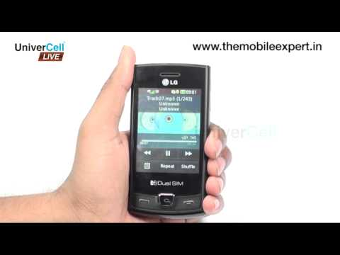 LG P520 - UniverCell the Mobileexpert Reviews