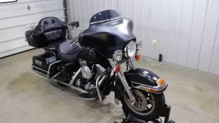 6. 1998 Harley Davidson Electra Glide Classic Walk Around