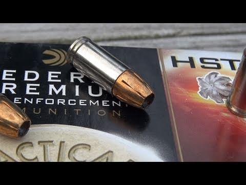 Federal HST 9mm 147 gr JHP SIM-TEST w/Denim