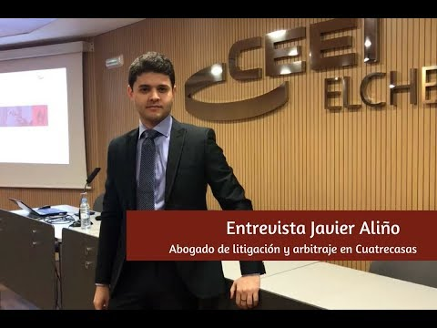 Entrevista a Javier Aliño, abogado en Cuatrecasas[;;;][;;;]