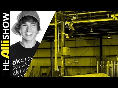 Alli Show - Brett Banasiewicz Builds The Kitchen Skatepark - BMX Video