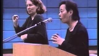 Evelyn Hu-DeHart, Professor of History and American Studies, impassioned talk in Bellevue, WA in 2002 about the four racial...