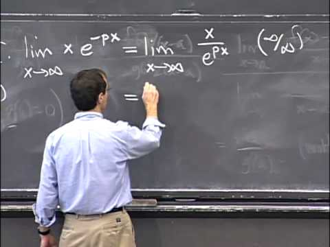 Lec 35 | MIT 18.01 Single Variable Calculus, Fall 2007