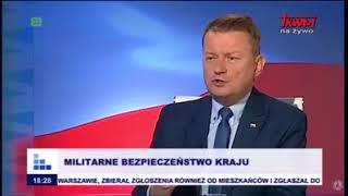 """Mariusz Błaszczak w TV Trwam o """"paradzie sodomitów"""""""