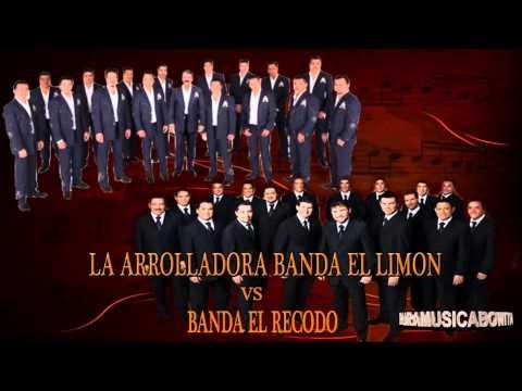Banda El Recodo vs La Arrolladora Mega Corridos Solo Lo Mejor