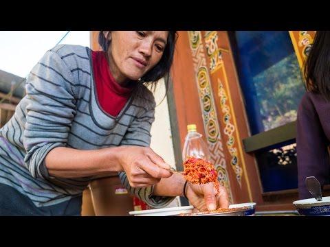 Bhutanese CHILI SAUCE! Bhutan Travel Guide from Punakha to Phobjikha Valley, Bhutan (Day 14)