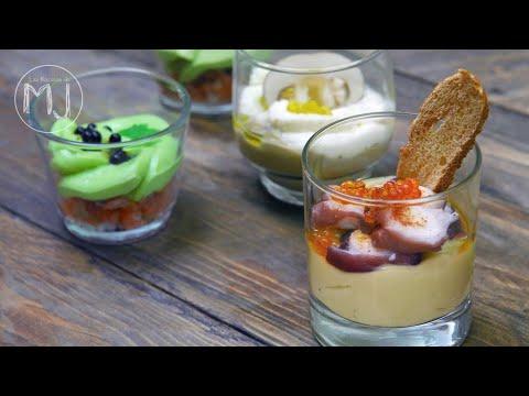 4 aperitivos en vasitos para impresionar a tus invitados for Cocina para invitados