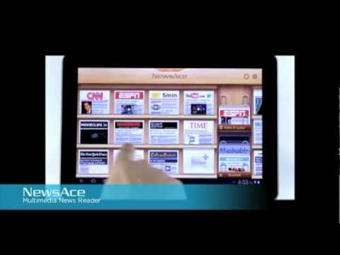 Video of NewsAce Multimedia News Reader