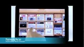 NewsAce - RSS News stand YouTube video