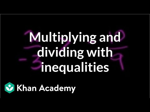 Algebra: Linear inequalities