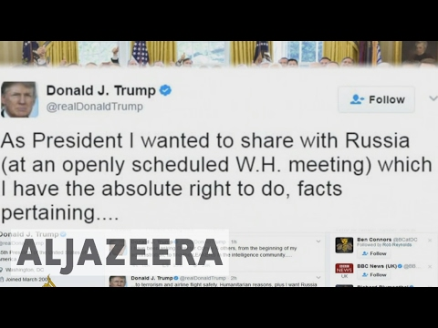 Donald Trump defends sharing information with Russia